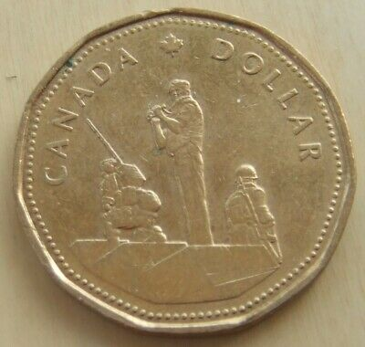 1995 Canada 1 Dollar Coin Peacekeeping Monument • 0.99£