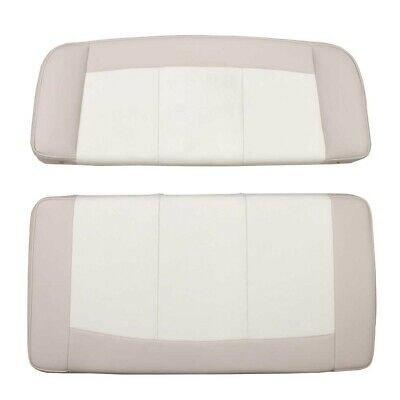 $ CDN322.03 • Buy Parker Boat Bench Seat Cushions   Cream Off White 2 Piece