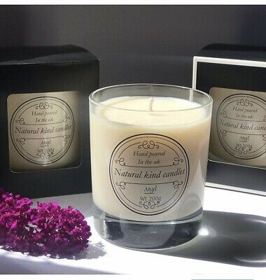 £15 • Buy Candle Luxury Angel Scented Using Natural Wax.made By Natural Kind Candles