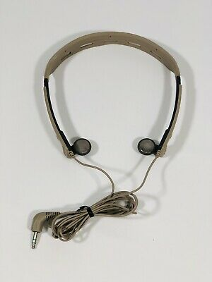 AU102.99 • Buy Vintage Sony Walkman MDR-W501 Adjustable Headband Headphones RARE MODEL! ✅