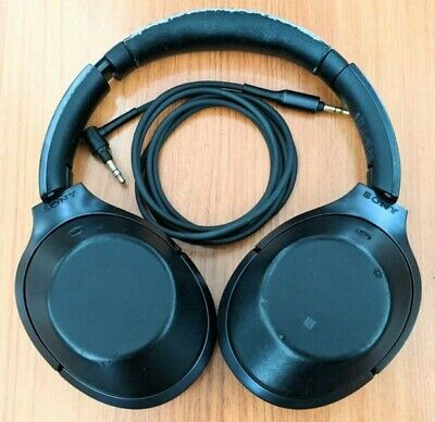 AU219 • Buy Sony MDR1000XB Over Ear Black Wireless Noise Cancelling Headphones