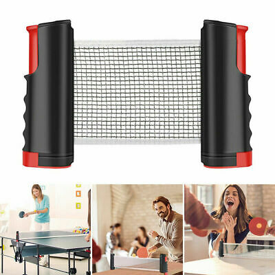 AU13.79 • Buy Table Tennis Ping Pong Set Retractable Net Rack Portable Sports Indoor Games WE
