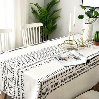 AU43.30 • Buy Tablecloth Rectangular Dustproof Dining Table Cover Party Tea Decoration