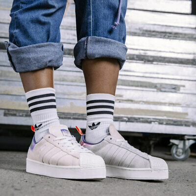 AU85.85 • Buy Adidas Fw8084 Women's Superstar Bold Girls Are Awesome Shoes (UK 5, 6, 7)