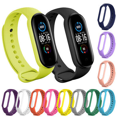 AU2.29 • Buy Fits For Xiaomi Mi Band 5 Or 6 Bracelet Watch Band Wrist Band Strap Replacement