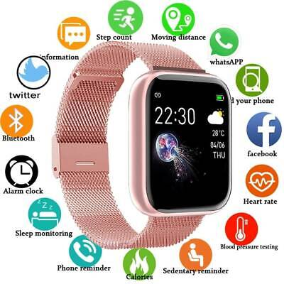 AU29.69 • Buy Waterproof Bluetooth Smart Wrist Watch Phone Android Samsung IPhone Man Women