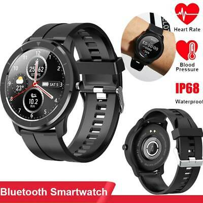 AU42.99 • Buy Waterproof Smart Watch Blood Pressure Oxygen Heart Rate Monitor For Android IOS