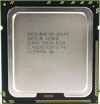 $ CDN90.68 • Buy Intel Xeon X5690 3.46GHz 6 Core 12MB LGA 1366 CPU Better Than Core I7 990x 980x