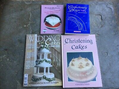 Cake Decorating Sugarcraft Books • 8£