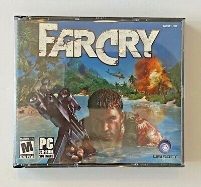 AU10.26 • Buy FAR CRY (FPS SURVIVAL GAME) PC/5 CD-ROMs/MANUAL/NEW