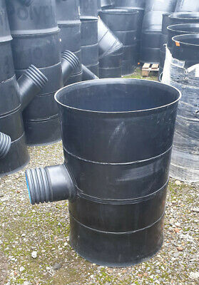 £149.98 • Buy Land Drainage Polypipe Rigidrain 450mm-100mm T Junction Twinwall Pipe JRD450100T