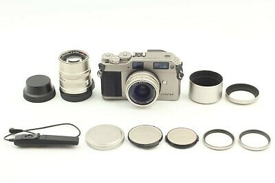$ CDN961.30 • Buy [ MINT ] Contax G1 Film Camera Body 28mm 90mm Lens Filter Hood Cable From JAPAN
