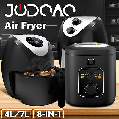 AU69.90 • Buy 4L/6L/7L Electric Air Fryer Electric Oil Free Deep Healthy Cooker Kitchen Oven