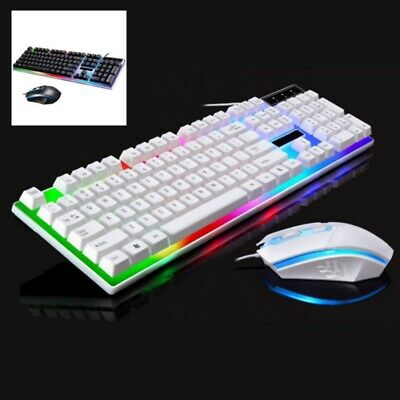 Wired USB Computer Keyboard Mouse Sets For PS4/PS3/Xbox One And 360 UK • 15.99£