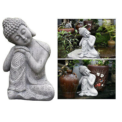 Thai Buddha Statue Resin Resting Figurine Home Garden Desktop Decor Artwork • 24.31£