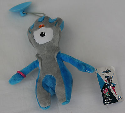 £3 • Buy 20cm Mandeville Stick On Mascot London Paralympics 2012 Official Product
