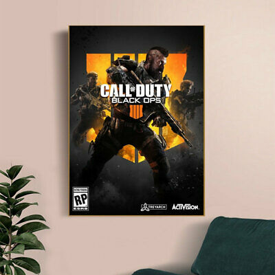 £16.32 • Buy Juego Call Of Duty Poster PC Xbox Ps4 Video Games Canvas Poster Wall Painting