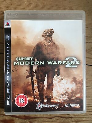 Call Of Duty Modern Warfare 2 PS3 With Manual ! Very Good Condition • 2.65£