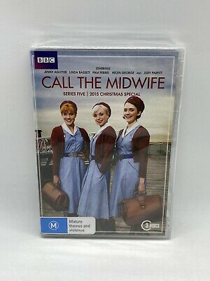 £9.63 • Buy Call The Midwife: Series 5 / 2015 Christmas Special (3-Disc Set) R4 NEW & SEALED