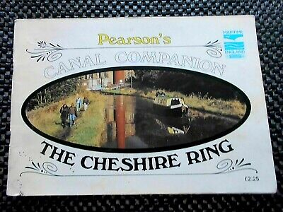 Canal Companion-THE CHESHIRE RING,1982 Book. • 1.25£