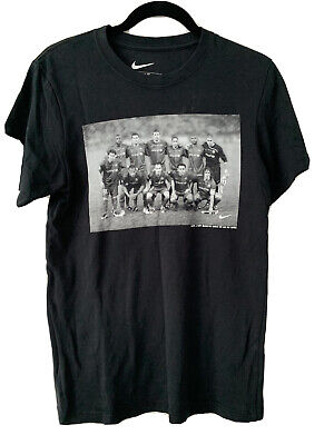 £24.99 • Buy Barcelona Lionel Messi / Thierry Henry Nike Black Slim Fit T-shirt Size Small