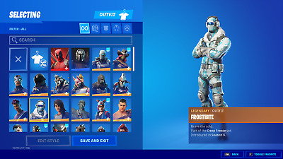 $ CDN168.80 • Buy NEW FORTNlTE Acc 75+ Skins Rare Items PC/Xbox Compatible