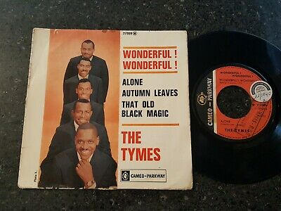 £6.65 • Buy Soul -the  Tymes - Wonderful! Wonderful! - Cameo Parkway - Ep - French - Listen