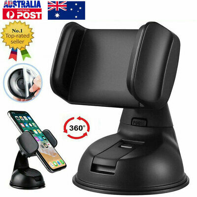 AU10.89 • Buy 360 In Car Mobile Phone Holder Universal Mount Windscreen Dashboard Suction Home