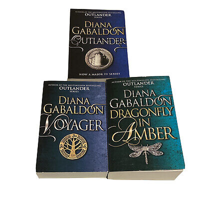 AU39.99 • Buy Outlander Series Books 1-3 By Diana Gabaldon Voyager Dragonfly In Amber