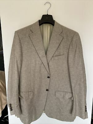 £49 • Buy Canali Exclusive Jacket Size 56R Silk/cashmere