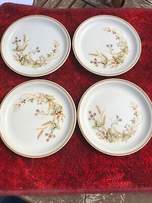 £12.99 • Buy Marks And Spencer Harvest Tea Plates X 4