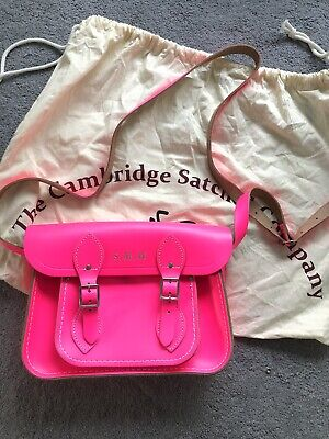 £25 • Buy The Cambridge Satchel Company Womens Pink Leather Bag