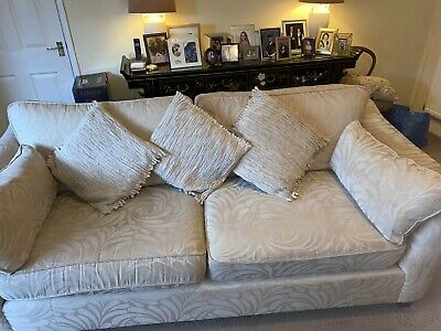 £335 • Buy Handcrafted Marks And Spencers Three Seater Settee And Large Armchair