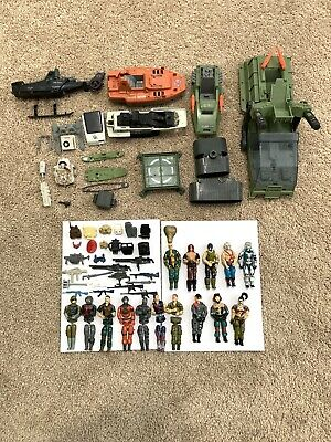 $ CDN60.66 • Buy Vtg 1980's 3 3/4 GI Joe HUGE Action Figures Accessories Weapons Vehicle Lot 2