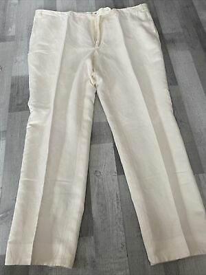 £16 • Buy Canali Beige Trousers Size 60R