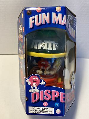 $9.99 • Buy M&M's Fun Machine Candy Dispenser  Official M&M's Brand Collectible  New In Box