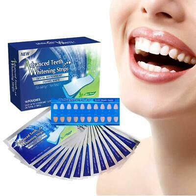 AU8.98 • Buy 28 TEETH WHITENING STRIPS ADVANCED Professional Dental Whitening Strips