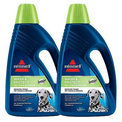 £28.99 • Buy 2 X BISSELL Wash & Protect - 1L Pet Stain & Odour With Scotchgard