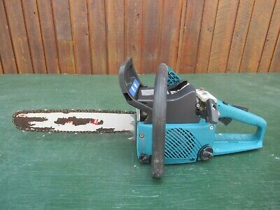 Vintage MAKITA DCS 400 Chainsaw With Log Spike Chain Saw FOR PARTS • 35.34£