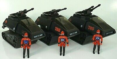 $ CDN62.51 • Buy Gi Joe Cobra Vintage Vehicle Army Builder Lot Hiss Tank With Driver X3 1983