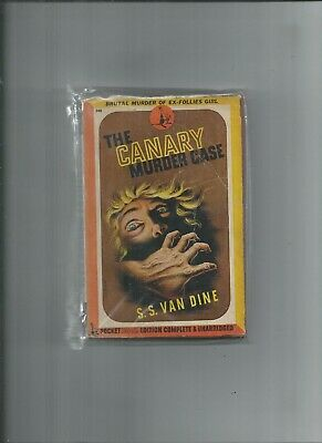 £1.41 • Buy Pocket Books #378  The Canary Murder Case  S.s. Van Dine  Very Good Cond