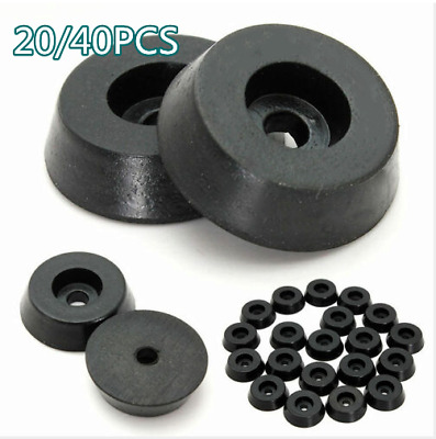 £3.59 • Buy 20/40Pcs Rubber Table Chair Furniture Feet Leg Pads Cover Tile Floor Protectors