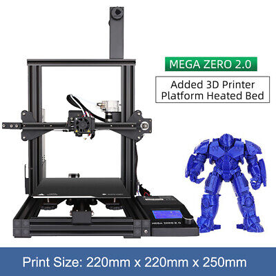NEW! Anycubic Mega Zero 2.0 3D Printer Large Printing Size Magnetic Printing Bed • 23£