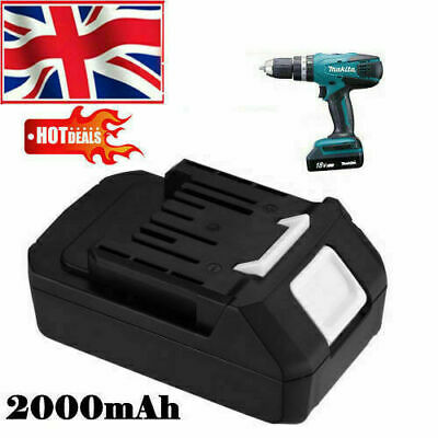 £32.99 • Buy Replacement 18V 2000mAh Battery For Makita BL1813G DF457D TD127D HP457D Drill