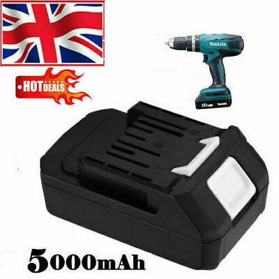£45.99 • Buy Replacement 18V 5000mAh Battery For Makita BL1813G DF457D TD127D HP457D Drill