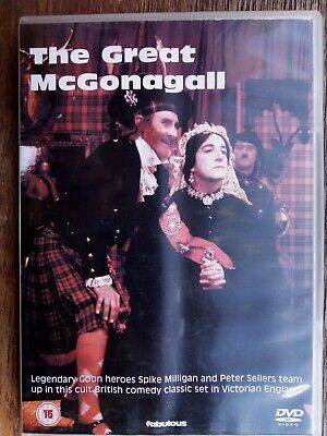 £2.95 • Buy The Great McGonagall (1975) (DVD,2004 Release) - Spike Milligan Peter Sellers