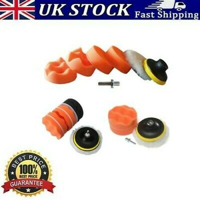 £6.22 • Buy 7 Piece Polishing Wheel Buffing Tool Kit With Drill Adapter For Angle Grinder