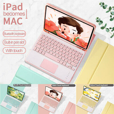AU52.99 • Buy Keyboard With Touchpad Case Cover For IPad 5th 6th 7th 8th Gen Air Pro 10.5  11