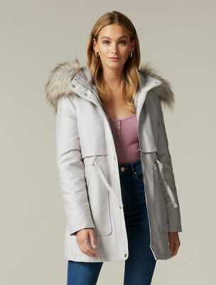 AU60 • Buy $ale - FOREVER NEW Tiffany Long Parka - RRP$180 PRICE & FREEPOST -Grey