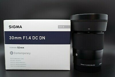 AU366 • Buy Sigma 30 Mm F1.4 DC DN Lens For Sony E Mount NEW Condition